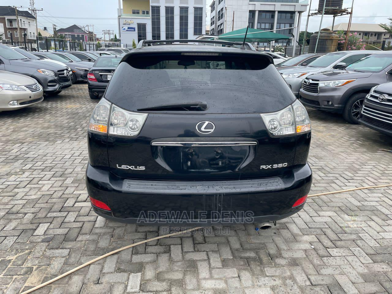 Lexus RX 2007 350 4x4 Black