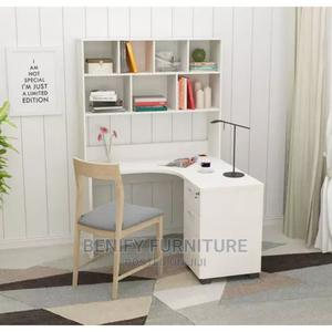 Simple Office Table With Shelf   Furniture for sale in Lagos State, Ojo