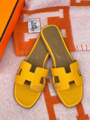High Quality HERMES Ladies Slippers Available for Sale | Shoes for sale in Lagos State, Ikoyi
