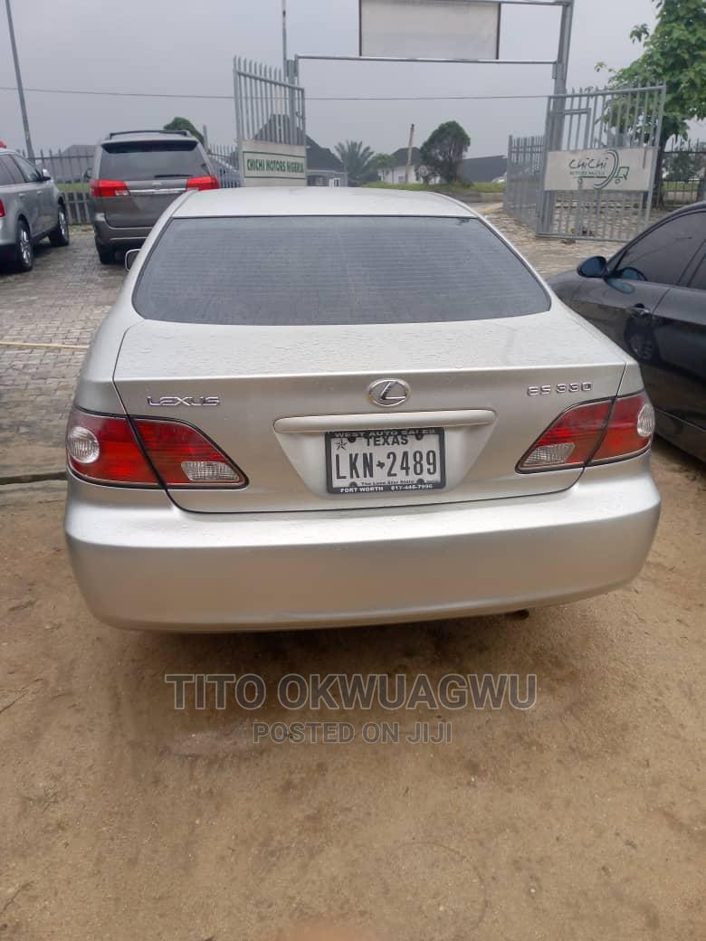 Archive: Lexus ES 2004 330 Sedan Silver