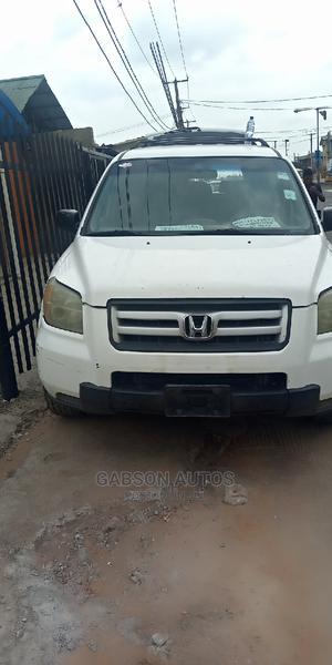 Honda Pilot 2007 White | Cars for sale in Lagos State, Surulere