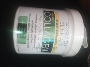 Advanced Clinicals Collagen Skin Rescue Lotion 454g | Skin Care for sale in Lagos State, Ipaja