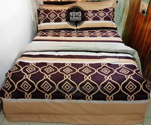 Beautiful Brown Duvet Set   Home Accessories for sale in Abuja (FCT) State, Kado