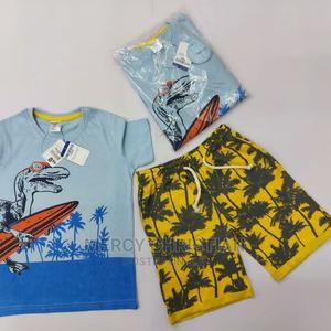 U.K Brand Boys T-Shirt Terry Short Pant Set | Children's Clothing for sale in Abuja (FCT) State, Gudu