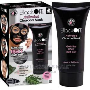 Black Face Activated Charcoal Mask. | Skin Care for sale in Lagos State, Lagos Island (Eko)
