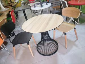 Wood Dinning Table With 4 Chairs | Furniture for sale in Lagos State, Ajah