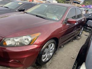 Honda Accord 2010 Sedan EX-L Red | Cars for sale in Lagos State, Apapa