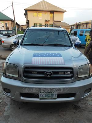 Toyota Sequoia 2003 Gray   Cars for sale in Lagos State, Abule Egba