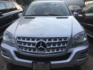 Mercedes-Benz M Class 2011 ML 350 4Matic Silver   Cars for sale in Lagos State, Apapa