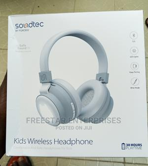 Soundtec by Porodo Kids Wireless Bluetooth Headphones. | Headphones for sale in Lagos State, Ikeja