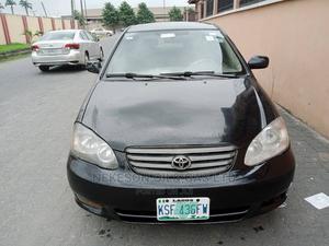 Toyota Corolla 2003 Sedan Automatic Black | Cars for sale in Lagos State, Abule Egba