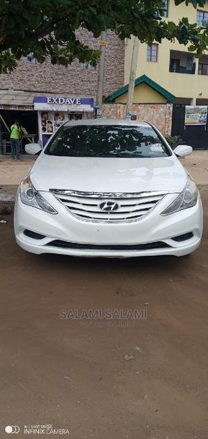 Hyundai Sonata 2013 White | Cars for sale in Lagos State, Alimosho