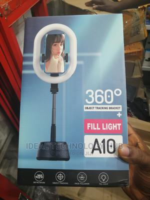 A10 360 Object Tracking Bracket + Fill Light   Accessories & Supplies for Electronics for sale in Lagos State, Ikeja