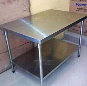 4ft Stainless Steel Working Table | Restaurant & Catering Equipment for sale in Lagos State, Ikoyi