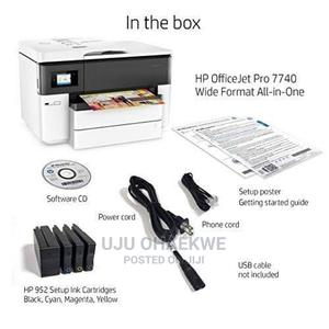 HP Officejet Pro 7740 Wide Format All-In-One Printer | Accessories & Supplies for Electronics for sale in Lagos State, Ikeja