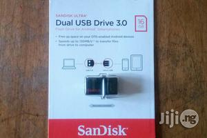 Sandisk OTG 16G USB Flash Drive | Computer Accessories  for sale in Lagos State, Ikeja