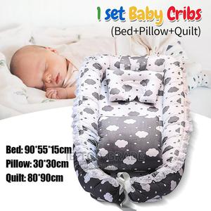 Portable Baby Newborn Nest Bedding Set Pillow Crib | Children's Furniture for sale in Lagos State, Victoria Island