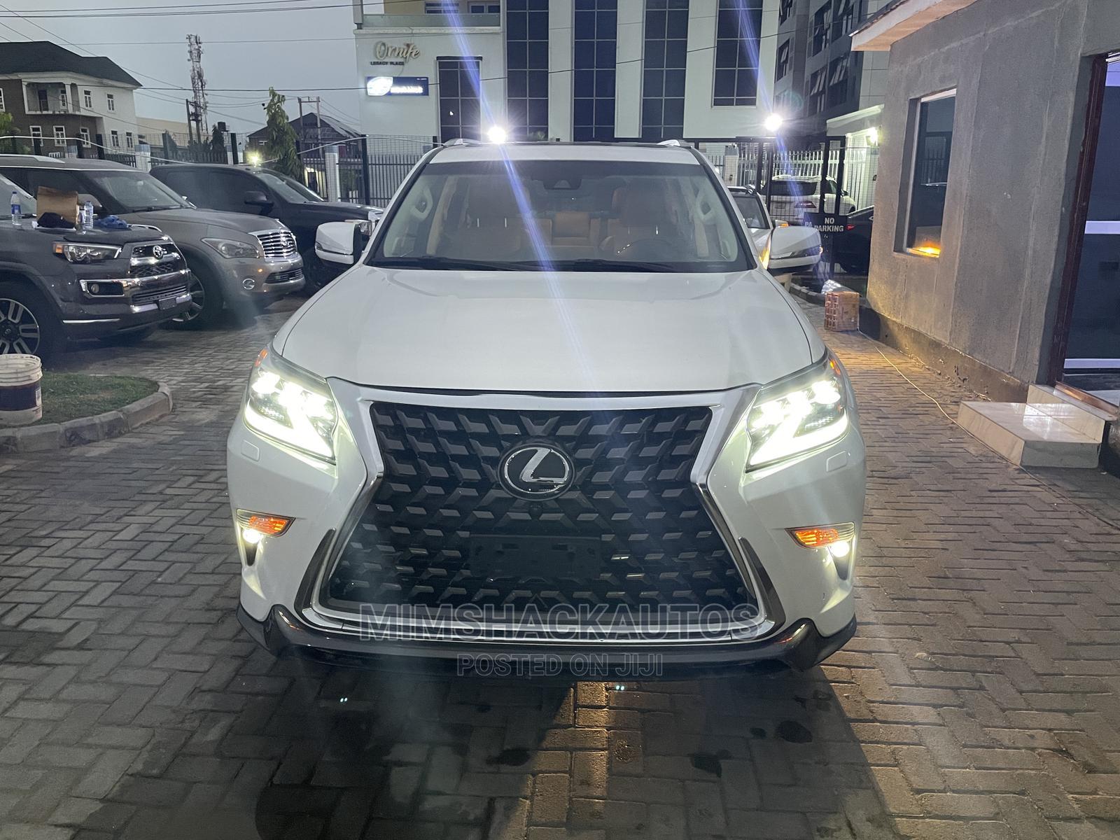 Lexus GX 2020 460 Luxury White