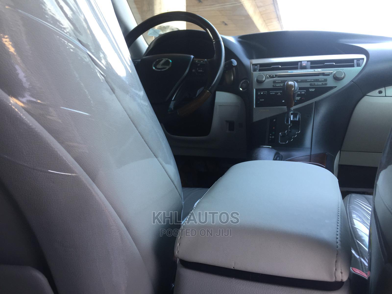 Lexus RX 2010 350 White | Cars for sale in Apapa, Lagos State, Nigeria