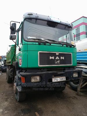 MAN Diesel Tipper 10 Tyres Auxiliary Tokunbo | Trucks & Trailers for sale in Lagos State, Apapa