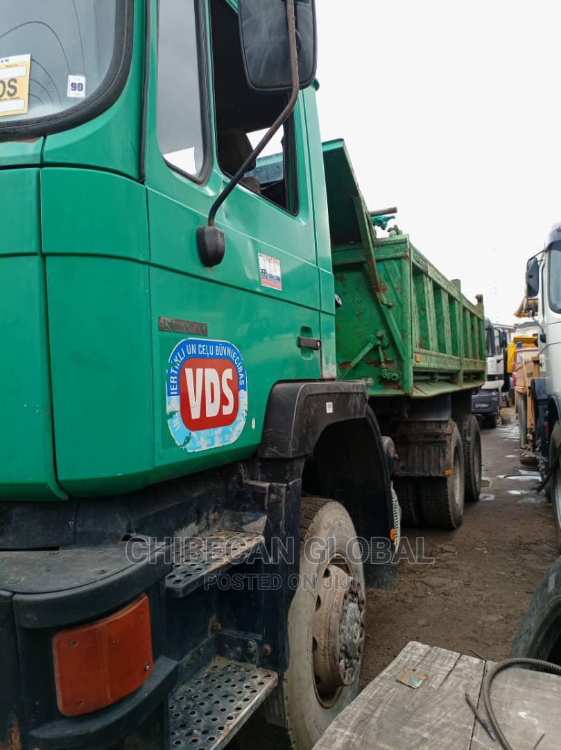 MAN Diesel Tipper 10 Tyres Auxiliary Tokunbo   Trucks & Trailers for sale in Apapa, Lagos State, Nigeria