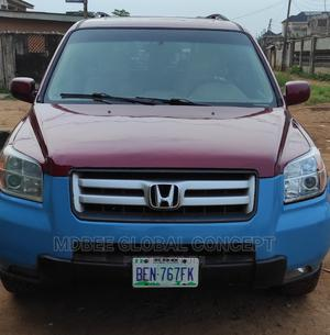 Honda Pilot 2006 EX 4x4 (3.5L 6cyl 5A) Red | Cars for sale in Lagos State, Ipaja
