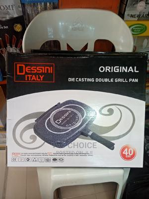 Dessini Double Sided Non-Stick Pressure Grill Pan-40cm | Kitchen & Dining for sale in Lagos State, Lagos Island (Eko)