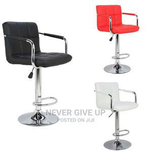 Wine Bar Side Stool White and Black and Red Is Available   Furniture for sale in Lagos State, Ikoyi