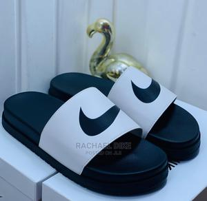 Big Sole Nike Slides   Shoes for sale in Lagos State, Lekki