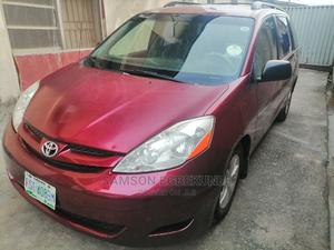 Toyota Sienna 2006 CE FWD Red | Cars for sale in Lagos State, Kosofe