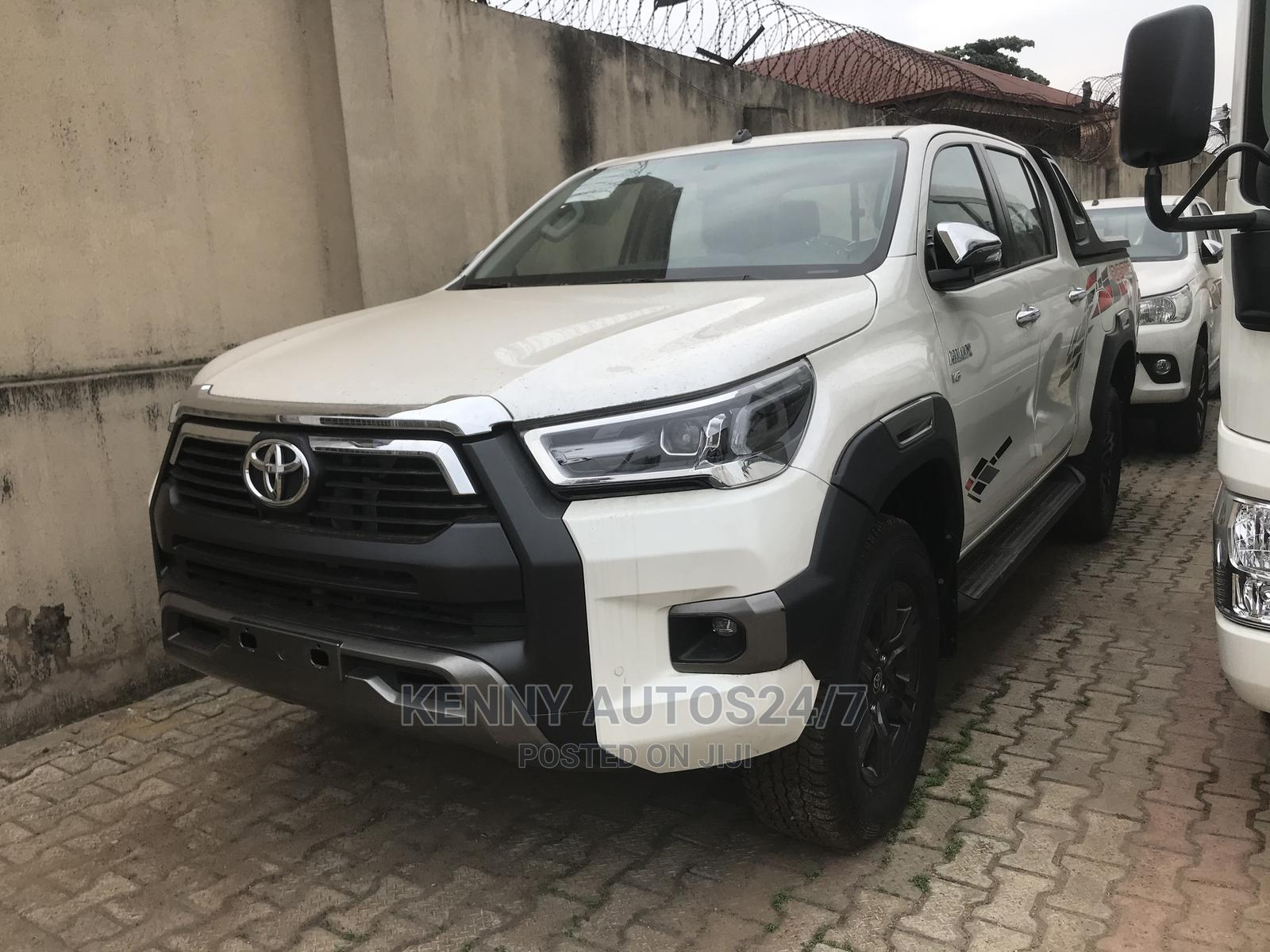 Toyota Hilux 2020 White   Cars for sale in Ikeja, Lagos State, Nigeria