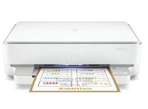 HP Deskjet PLUS Ink Advantage 6075 All-In-One Printer   Printers & Scanners for sale in Lagos State, Ikeja