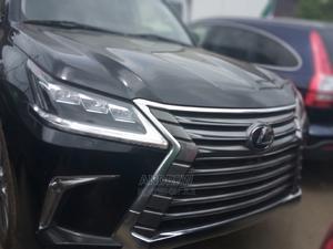 Lexus LX 2017 570 (5 Seats) AWD Black | Cars for sale in Lagos State, Apapa