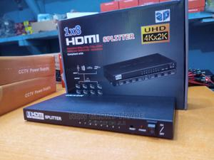 8-Port HDMI Splitter to Mutiple Monitors/Projector   Accessories & Supplies for Electronics for sale in Lagos State, Ikeja