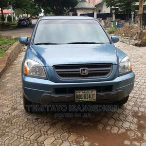 Honda Pilot 2005 EX 4x4 (3.5L 6cyl 5A) Blue   Cars for sale in Abuja (FCT) State, Galadimawa