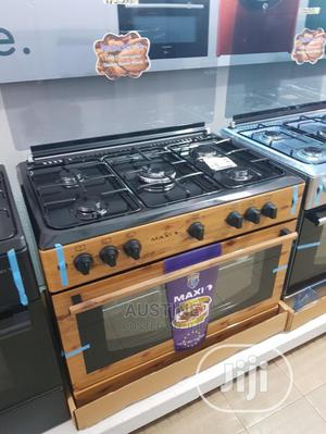 Brand New MAXI 5borner Standing Gas Cooker All Gas Wood Type | Kitchen Appliances for sale in Lagos State, Ojo