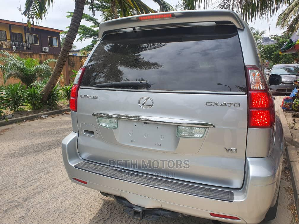 Lexus GX 2009 470 Silver   Cars for sale in Ibeju, Lagos State, Nigeria
