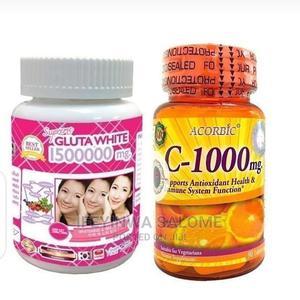 Gluta White Ascorbic Vitamin C | Vitamins & Supplements for sale in Lagos State, Ojo