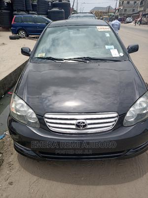 Toyota Corolla 2004 S Black   Cars for sale in Lagos State, Ojo
