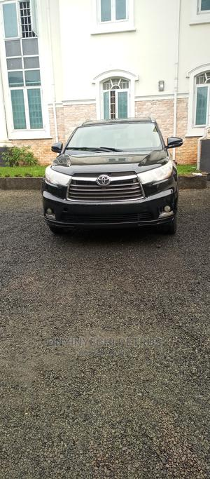 Toyota Highlander 2014 Black | Cars for sale in Abuja (FCT) State, Wuse