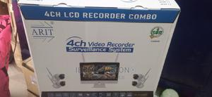 4channle LCD RECORDER COMBO Surveillance System   Security & Surveillance for sale in Lagos State, Ikeja