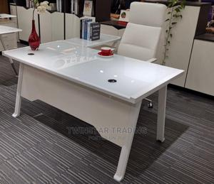 New Modern White Executive Office Table | Furniture for sale in Lagos State, Ojo