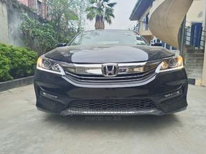 Honda Accord 2016 Black | Cars for sale in Lagos State, Oshodi
