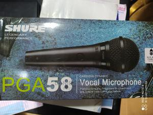 Shure Wired Mic Pg58   Audio & Music Equipment for sale in Lagos State, Ojo