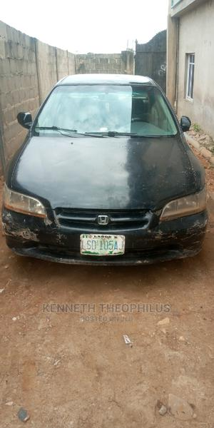 Honda Accord 2000 Coupe Black | Cars for sale in Lagos State, Ikeja