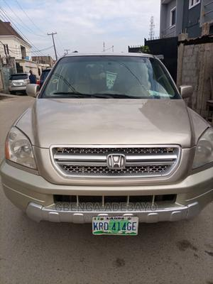 Honda Pilot 2006 Gold | Cars for sale in Lagos State, Shomolu