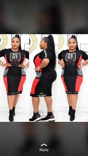 Beautiful Female Fitted Short Gown | Clothing for sale in Lagos State, Ikeja