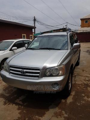 Toyota Highlander 2003 Silver | Cars for sale in Lagos State, Isolo