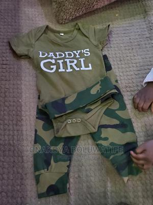 Baby Girl 2 Pieces Set With Headband   Children's Clothing for sale in Edo State, Benin City