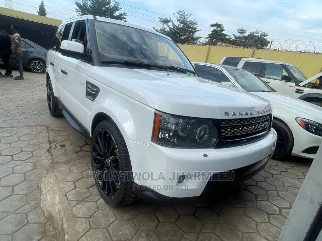 Land Rover Range Rover Sport 2012 HSE 4x4 (5.0L 8cyl 6A) White   Cars for sale in Alimosho, Lagos State, Nigeria
